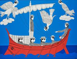 Sirènes – Ulysse (1980), Yannis Gaïtis, Galerie Nationale de Grèce